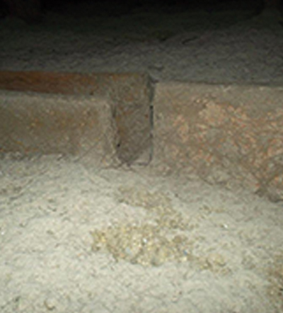 Over time, loose fill insulation settles, losing its r-value.