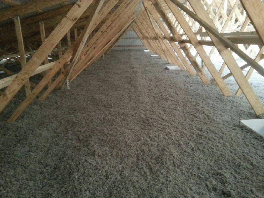 Barn attic insulation greener world solutions for Glass block r value