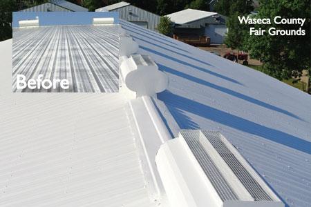 Metal Roof Repair Greener World Solutions Insulation